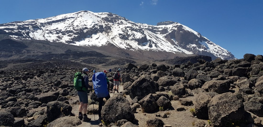 Ascent to Kilimanjaro