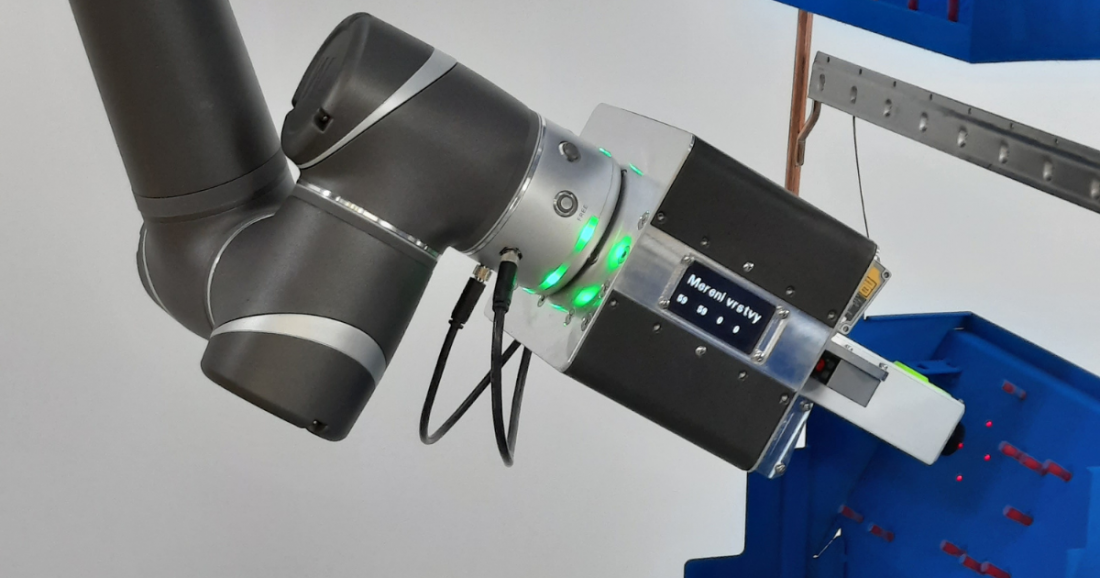 Unique technology for robotic measurement of paint thickness before firing