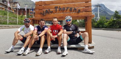 Colleagues on the Tour de France